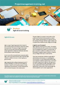 Brochure Agile & Scrum training